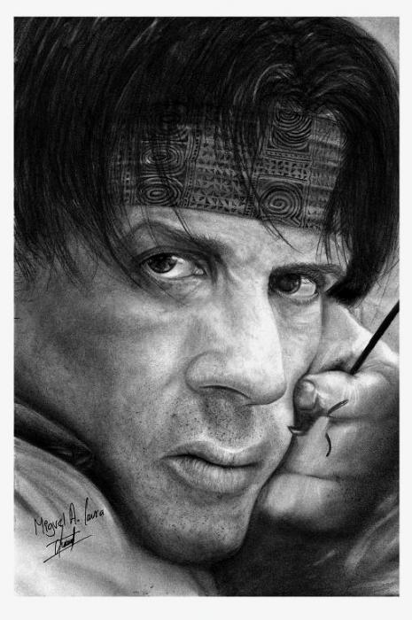 Sylvester Stallone by mgl8807